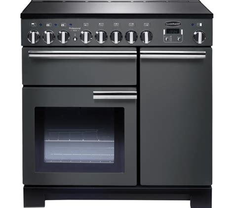 electric induction range cookers buy rangemaster professional deluxe 90 electric induction range cooker slate chrome free