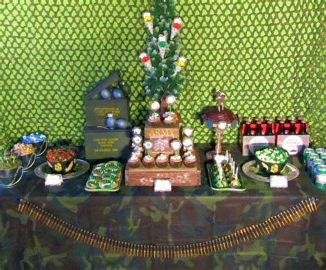 army themed decorations frosting army theme ideas inspiration