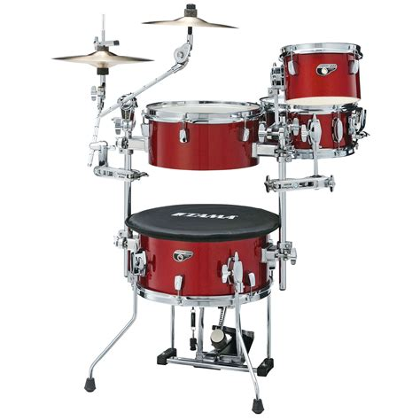 Tama Bass Drum For Coctail tama cocktail jam mini 4 drum set shell pack 14