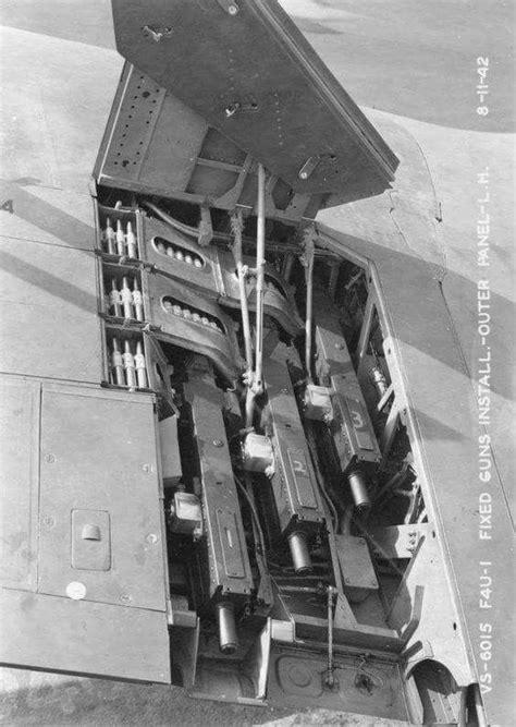Three Browning M2 .50 caliber machine guns in the left