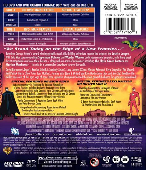 format of dvd superman homepage