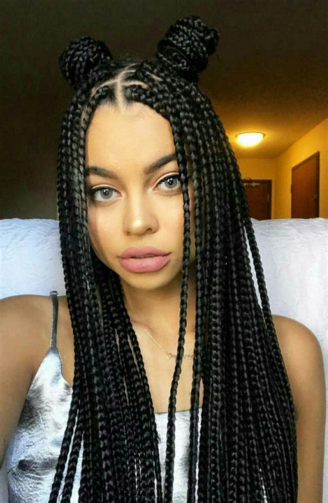 african box braids pony tail pictures pin by ambie on natural hair love and style ideas