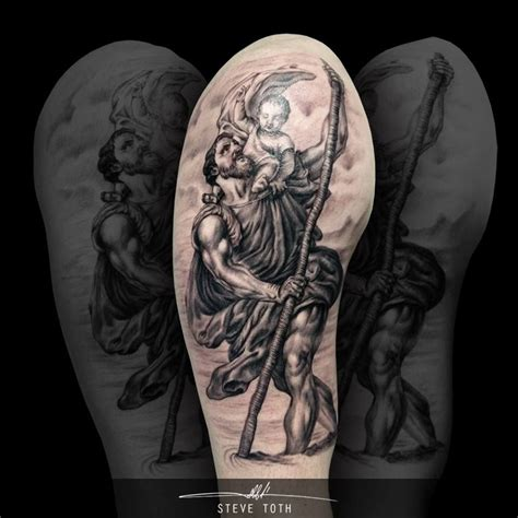 tattoo pedro quebec st christopher tattoo www monumentalinkandbeauty co uk