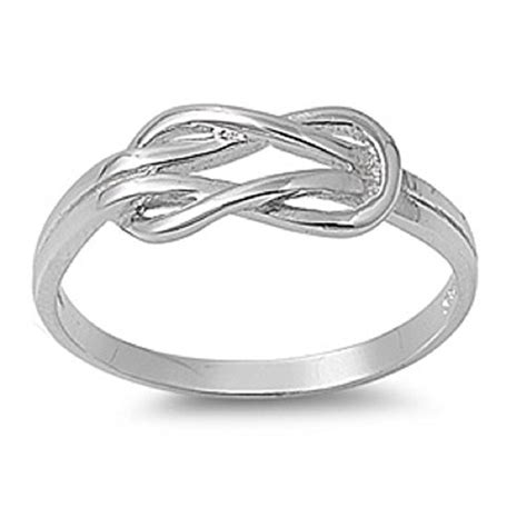 what is a promise ring the real meaning the knot sterling silver infinity promise knot ring size 2