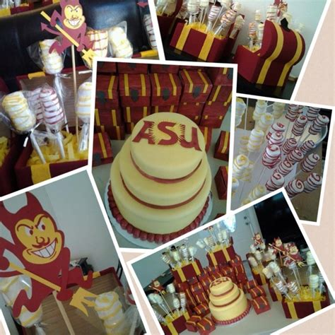 arizona state themed trunk or going