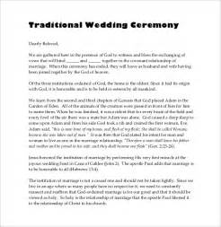non religious wedding ceremony template wedding ceremony program template 31 word pdf psd
