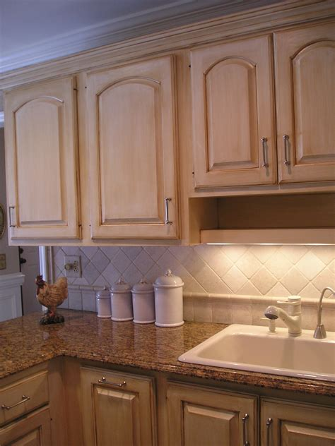 Painted Oak Kitchen Cabinets Painted White Oak Kitchen Cabinets Write