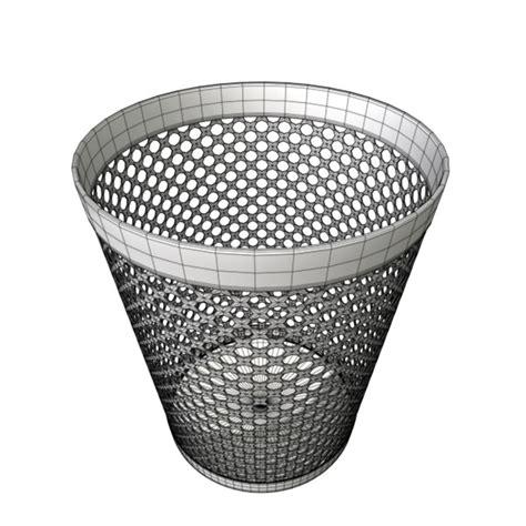 waste paper basket 3d model waste paper basket 3d model