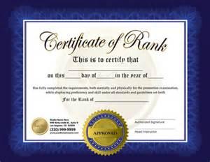 promotion certificate template rank certificate 8 5 x 11 ma010507