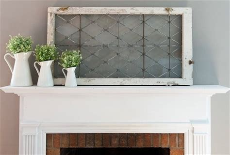 Window Mantle Window On Mantel Beautify Your Humble A Boad