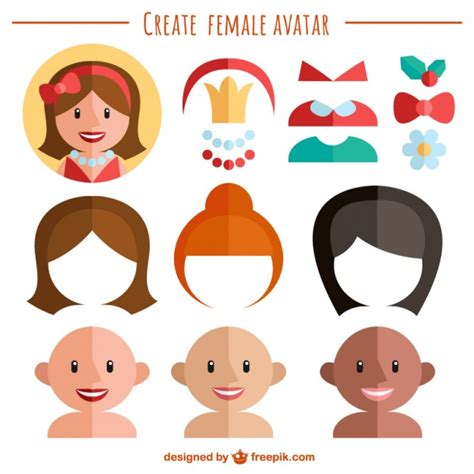 create a avatar create your avatar vector free