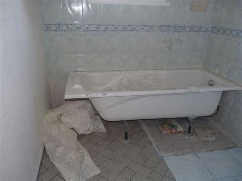 habillage baignoire et espace arri 232 re