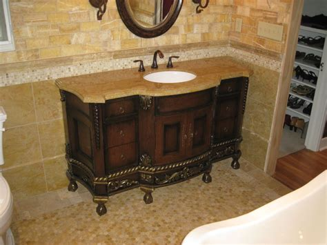 rustic bathroom vanities with a built in sink cabinets