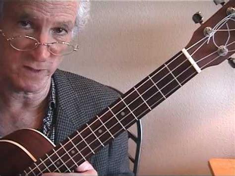 lessons jazz ukulele glen rose jazz ukulele lesson autumn leaves youtube