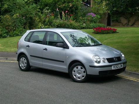 volkswagen polo 2002 used volkswagen polo 2002 petrol 1 2 s 55 5dr hatchback