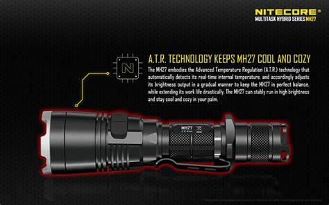 Senter Led Nitecore Mh27uv Ultraviolet Cree Xp L Hi V3 1000 Lumens nitecore mh27uv ultraviolet senter led cree xp l hi v3