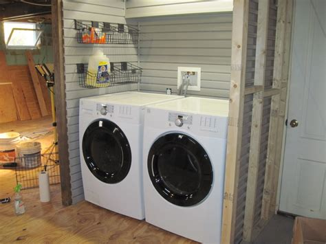 slatwall for laundry rooms garage storage products