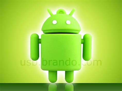 android flash drive android droid styled usb flash drive gadgetsin