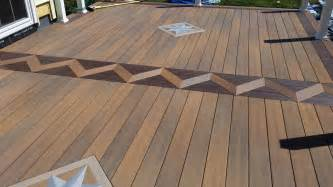 Remodeling custom inlay work personalized deck pelham nh ken