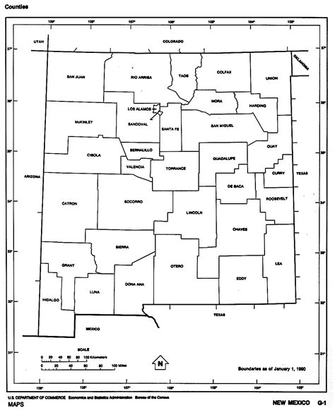 map new mexico and texas u s county outline maps perry casta 241 eda map collection ut library