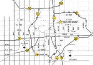 wichita map ulrich museum of wichita state