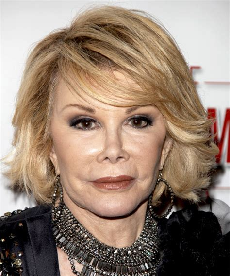 Joan Rivers Hairstyles by Joan Rivers Medium Formal Hairstyle