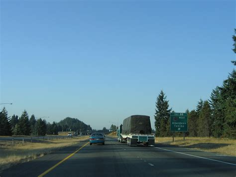 Washington @ AARoads - Interstate 5 South: Thurston County I 5 Exit 71 In Washington State