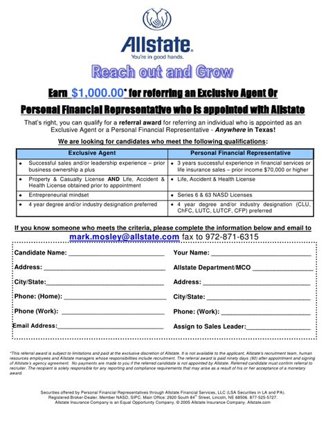 employee referral form employee referral form 1000 all