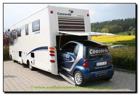 Rv With Smart Car Garage by Southdowns Concorde Charisma 890g Smart Garage Motorhome