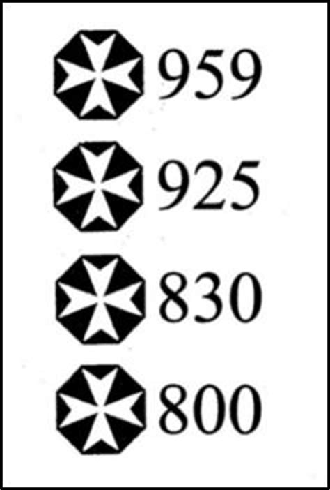 Maltese Hallmarks - Encyclopedia of Silver Marks