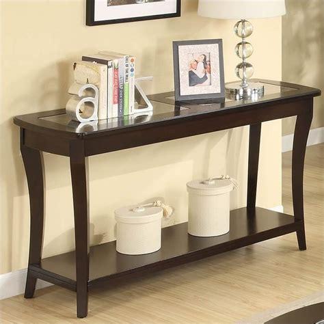 Meja Mahogani Console Table riverside furniture annandale sofa table in mahogany 12415