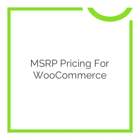 what is msrp pricing msrp pricing for woocommerce 2 9 5 nobuna