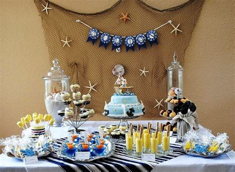 Nautical Themed Baby Shower Celebrations At Home Nautical Theme Baby Shower Centerpieces