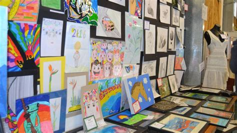 kids artwork display liz johnson real estate port lincoln show 2016 gallery port lincoln times