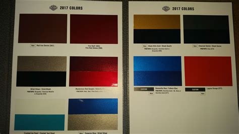 2017 colors page 3 harley davidson forums