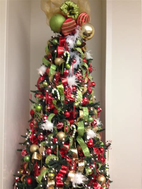 whoville inspired christmas tree christmas pinterest