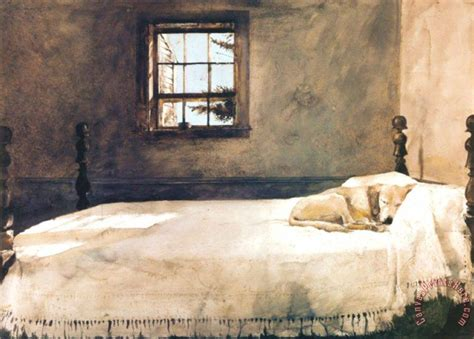andrew wyeth master bedroom print for sale