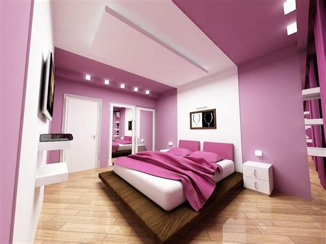 pink room color combination