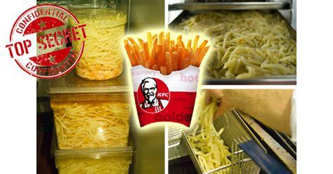 desain gerobak kentang goreng begini cara membuat french fries renya ala kentucky