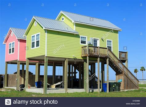 buy houses in america beach houses in north beach corpus christi texas united states of stock photo