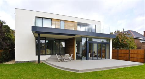 modern home design build contemporary new build house kate stoddart architect