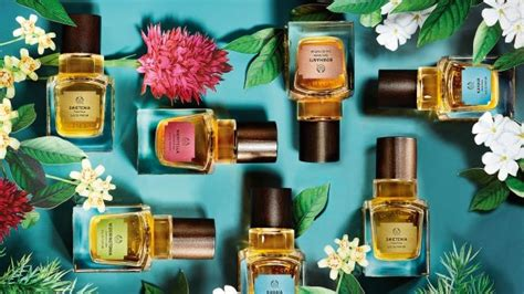 Set To Launch Perfume by The Shop Launches Five Elixirs Of Nature News