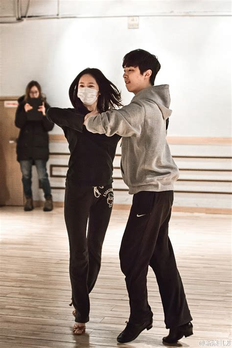 film unexpected love video and pics krystal is learning ball room dance for
