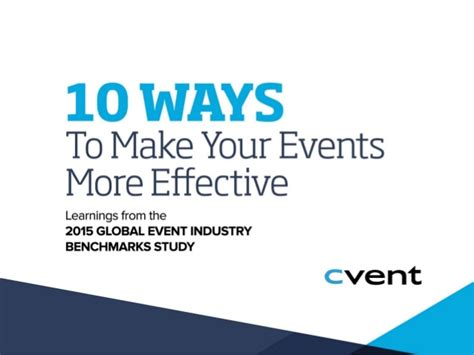 10 Ways To Build Your 10 Ways To Make Your Events More Effective