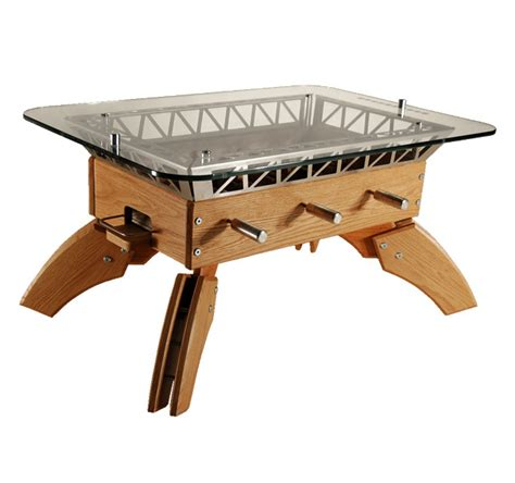 indoor football the fussball coffee table wired