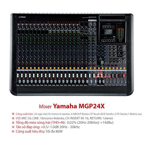 Mixer Yamaha Mgp 24 X b 224 n mixer yamaha mgp24x gi 225 tốt nhập khẩu ch 237 nh h 227 ng