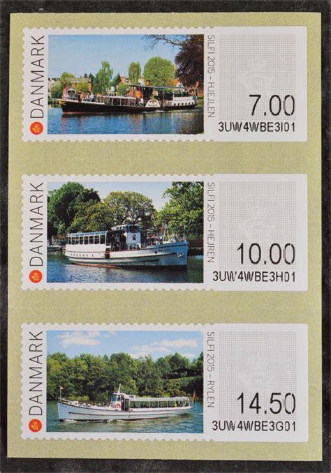 Brief Schweiz Dänemark D 228 Nemark Denmark 2015 Atm Nr 84 86 Raddfer Fahrgastschiff Hejren Rylen 183 Briefmarkenhaus Engel