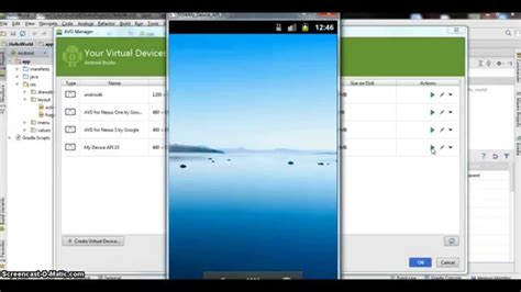 tutorial android virtual device create your emulator in android studio youtube