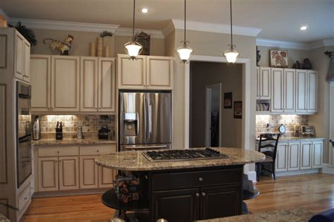 faux finish kitchen cabinets creative cabinets and faux finishes llc traditional kitchen atlanta by creative