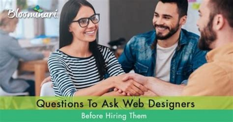 60 questions to ask web designers before hiring them part